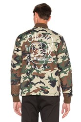 Obey Savage Hell Jacket Green