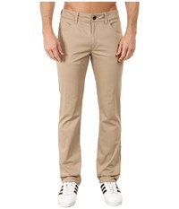 Adidas Skateboarding Five Pocket Stretch Twill Pants Cargo Khaki Men's Casual Pants