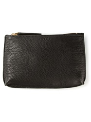 Marni Zipped Up Make Up Bag Black