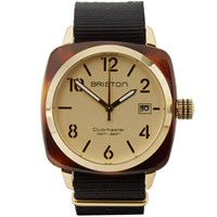 Briston Clubmaster Hms Watch Tortoise Champagne And Black
