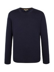 Gibson Merino Crew Neck Sweater Navy
