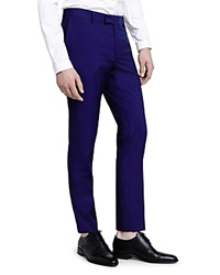 The Kooples Electric Blue Pique Slim Fit Trousers