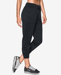 Under Armour Storm Lightweight Cropped Joggers Black