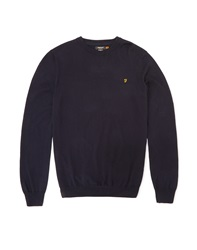 Farah Vintage Jumper With Crew Neck