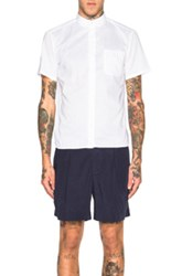 Kolor Short Sleeve Shirt In White