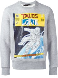 Love Moschino 'Tales From Love' Sweatshirt Grey