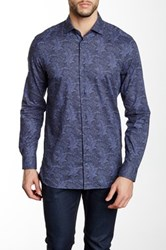 Moods Of Norway Fred Classic Fit Shirt Blue