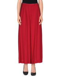 Uniqueness Trousers Casual Trousers Women Red