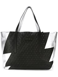 Jimmy Choo 'Pimlico' Shopper Tote Black