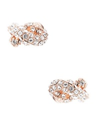Kate Spade Sailor Knot Stud Earrings Rose Gold