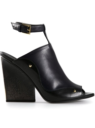 Maiyet Ankle Strap Sandals Black