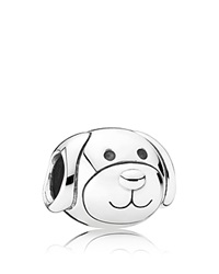 Pandora Design Pandora Charm Sterling Silver Devoted Dog Moments Collection
