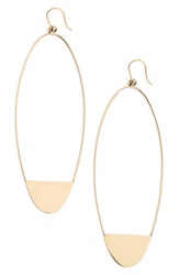 Lana 'Riviera Eclipse' Drop Earrings Yellow Gold