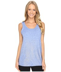 Brooks Distance Tank Top Heather Wave Sol Shine Women's Sleeveless Blue