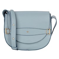 Nica Mila Saddle Across Body Bag Blue Haze