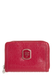 Guess Frosted Wallet Red