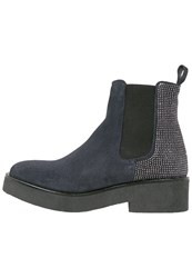 Weekend Platform Boots River Dark Blue