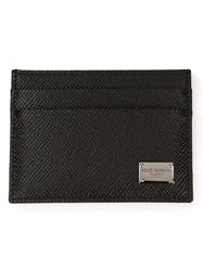 Dolce And Gabbana 'Dauphine' Card Holder Black