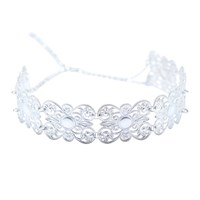 Lucy Ashton Jewellery Silver Filigree Choker Necklace