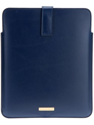 Alexander Mcqueen Ipad Case Blue