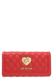Love Moschino Wallet Rosso Red