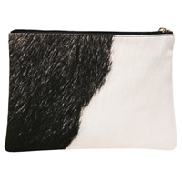 Elliott Nyc Zip Clutch Peacock