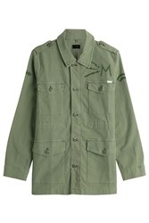 Mother Cotton Jacket Green