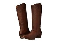 Stetson 15 Rustic Ficcini Brown Cowboy Boots