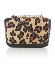 Coccinelle Amelie Maculato Mult Coloured Pony Cross Body Bag Multi Coloured Multi Coloured