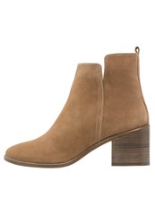 Pura Lopez Ankle Boots Camel Arena