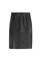 Mcq By Alexander Mcqueen Mcq Alexander Mcqueen Faux Leather Pencil Skirt Black