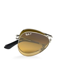 Ray Ban Aviator Folding Sunglasses Unisex