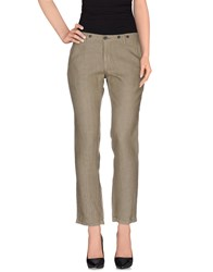 Barena Trousers Casual Trousers Women Military Green