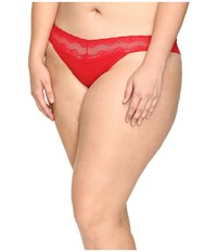 Natori Bliss Perfection Plus Thong Real Red Women's Underwear