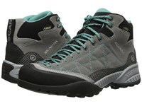 Scarpa Zen Pro Mid Gtx Mid Grey Lagoon Women's Shoes Gray