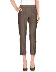Erika Cavallini Semi Couture Erika Cavallini Semicouture Trousers 3 4 Length Trousers Women Khaki