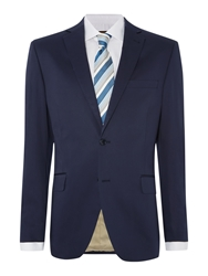 Corsivo Ercole Stretch Cotton Sb2 Suit Jacket Navy