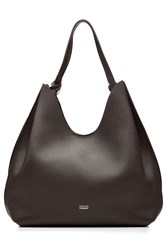 Steffen Schraut Leather Tote Brown