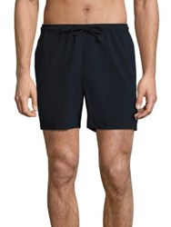 Theory Contemporary Fit Swim Trunks Eclipse
