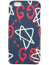 Guccighost Iphone 6 Cover Blue