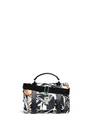 Proenza Schouler 'Ps1' Medium Floral Print Nylon Satchel Multi Colour