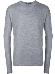 Alexander Wang T By Casual Long Sleeve Top Grey