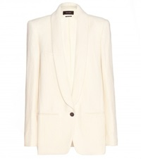 Isabel Marant Haylee Linen And Wool Blend Blazer Neutrals