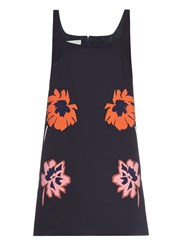 Stella Mccartney Melissa Flower Applique Mini Dress