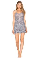 Only Hearts Club Python Stretch Lace Chemise Green