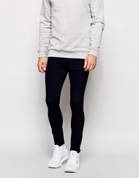 Pull And Bear Pullandbear Super Skinny Fit Jean In Indigo