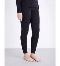 Falke Skiing Comfort Wool Tech Leggings Black