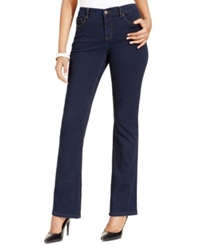 Style And Co. Bootcut Tummy Control Jeans Rinse Wash Only At Macy's