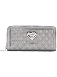 Love Moschino Quilted Wallet Grey