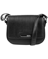 Kenneth Cole Reaction Never Let Go Mini Crossbody Black